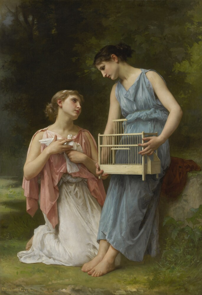 Elizabeth-Jane-Gardner-Bouguereau-les-trois-amis-la-captive.jpg