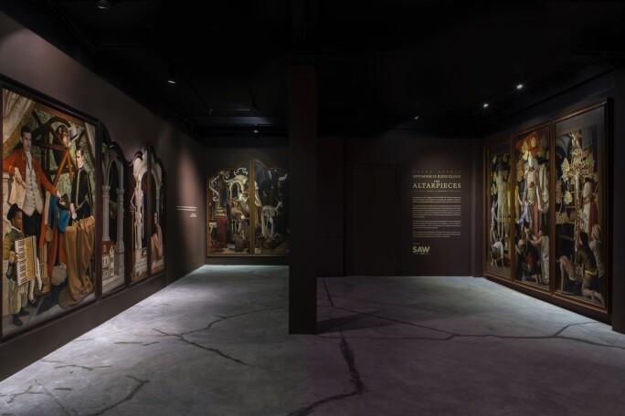 Interior, the Private Museum, Singapore