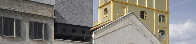 Exterior View, Fondazione Prada