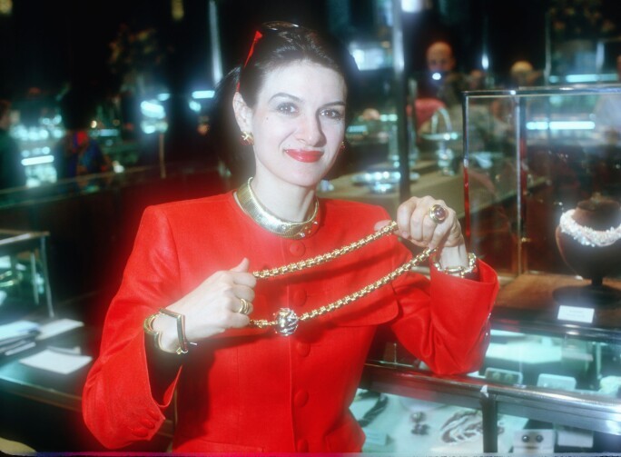 Paloma Picasso Introduces Her Jewelry Collection