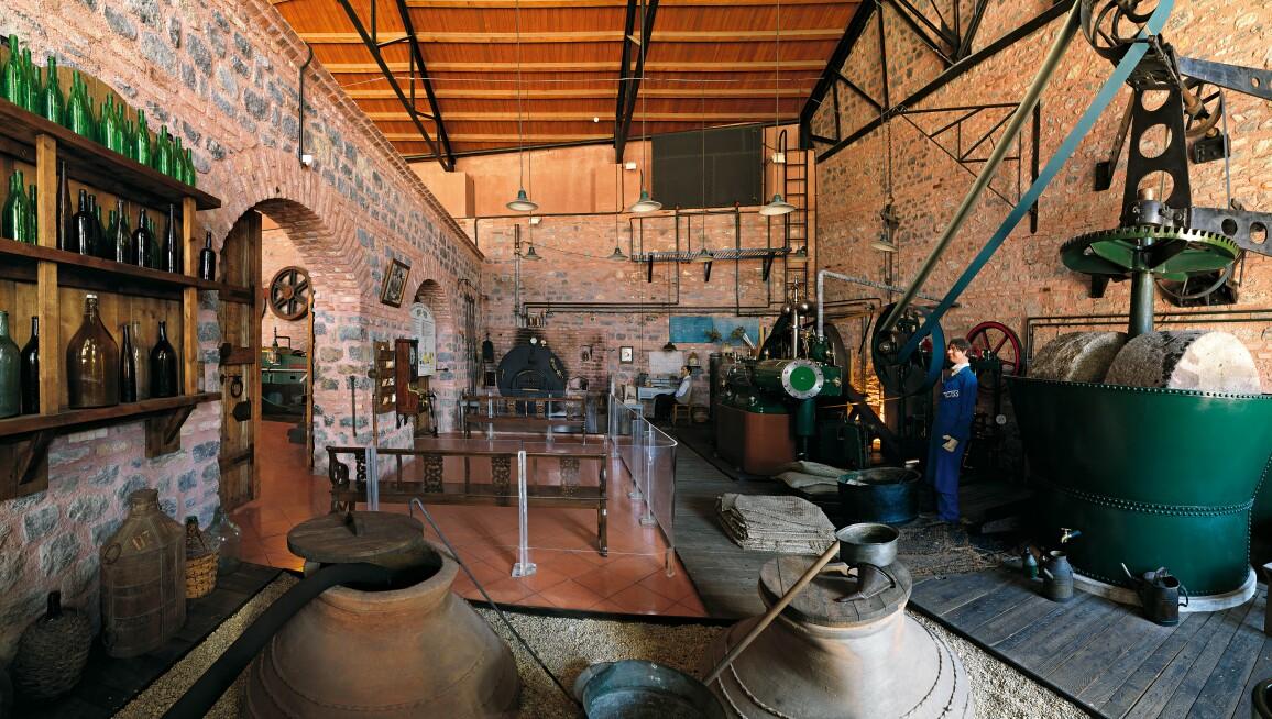 Interior View, Rahmi M. Koç Museum