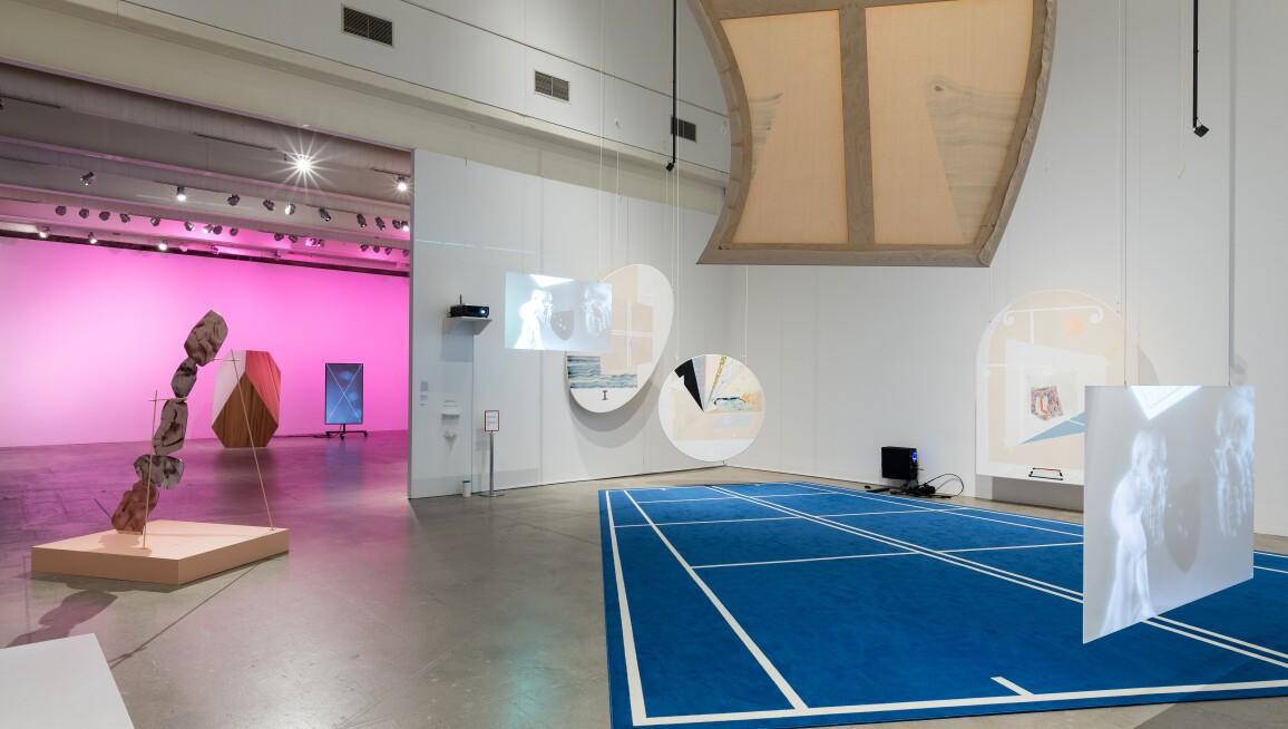 Interior view, Institute of Contemporary Art, University of Pennsylvania