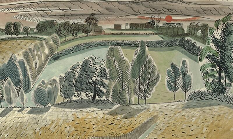 Edward Bawden, Untitled watercolour