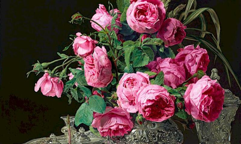Ferdinand Georg Waldmüller_Roses