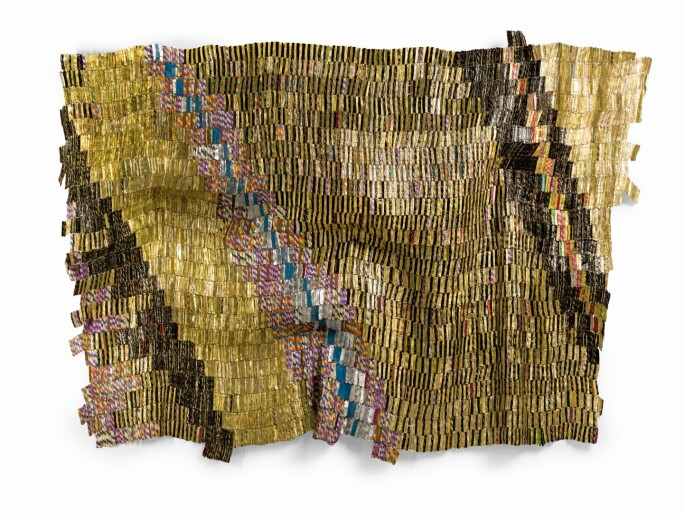 El Anatsui Zebra Crossing 2