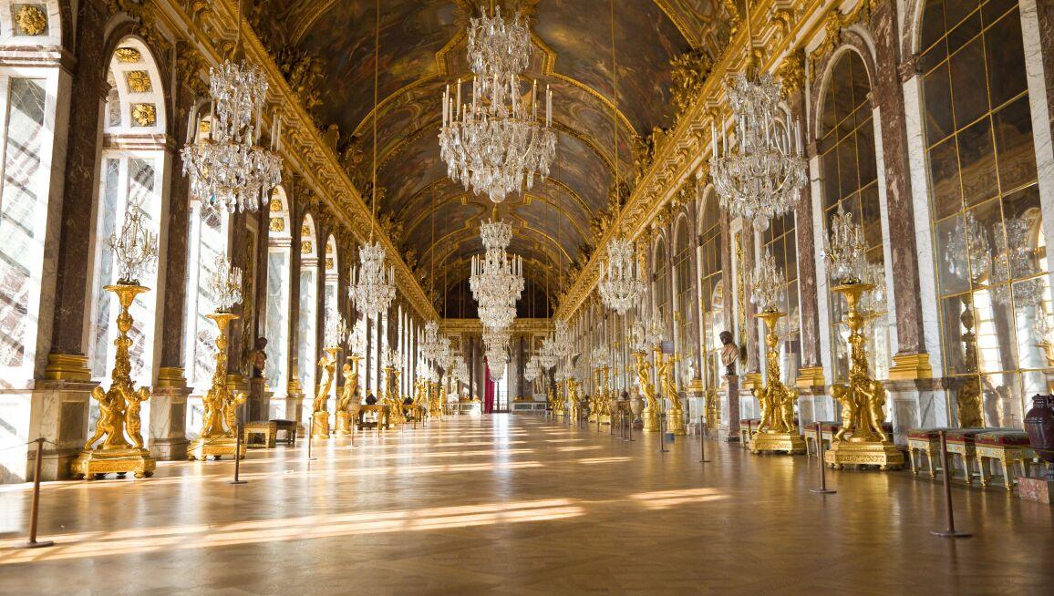 Interior View, Château de Versailles