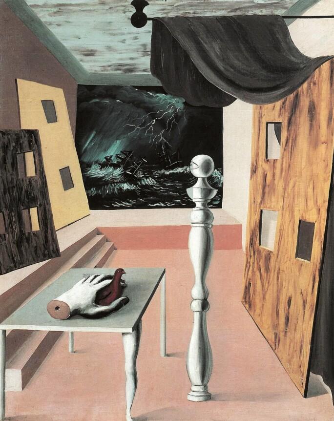 René Magritte, La Traversée difficile, 1926, collection particulière