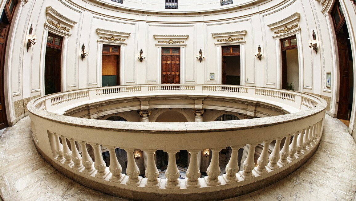Interior View, Centro Cultural Banco do Brasil do Rio de Janeiro