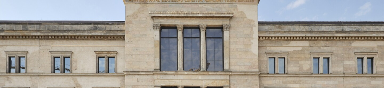 Exterior View, Neues Museum