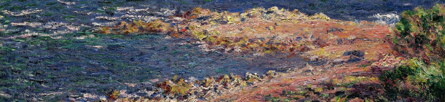 Monet Impressionist painting in an auction selling french impressionist paintings