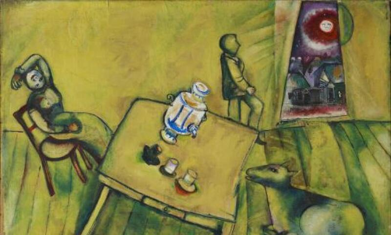 Marc Chagall, The Yellow Room