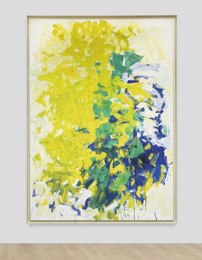 Joan Mitchell, L'Arbre de Phyllis, 1991. Estimate $3,000,000–5,000,000.