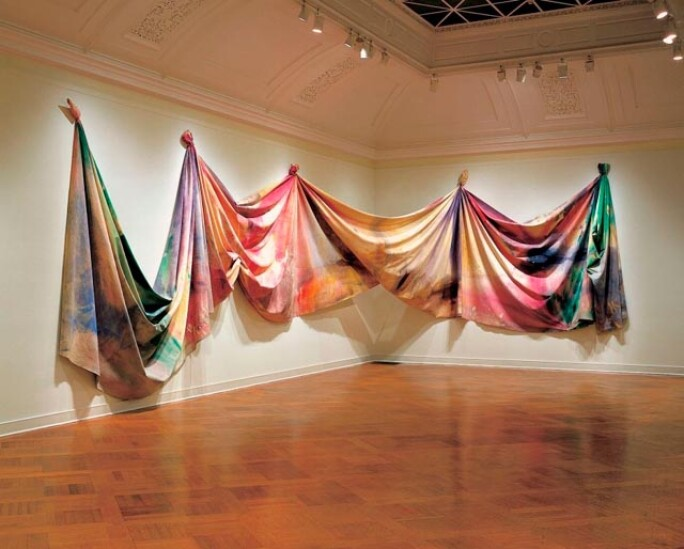 Sam Gilliam; Light Depth; 1969