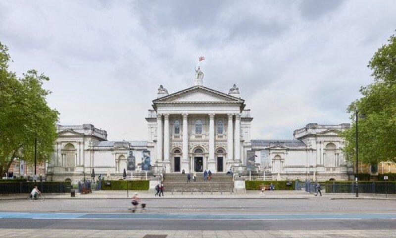 Turner Prize _ exterior Tate Britain
