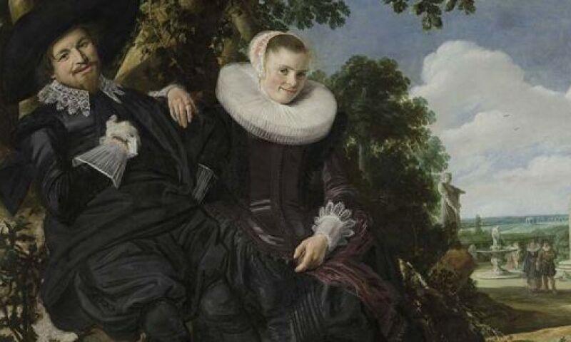 Frans Hals, Marriage Portrait of Isaac Massa and Beatrix van der Laen
