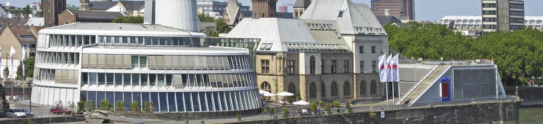 Exterior view of Schokoladenmuseum.