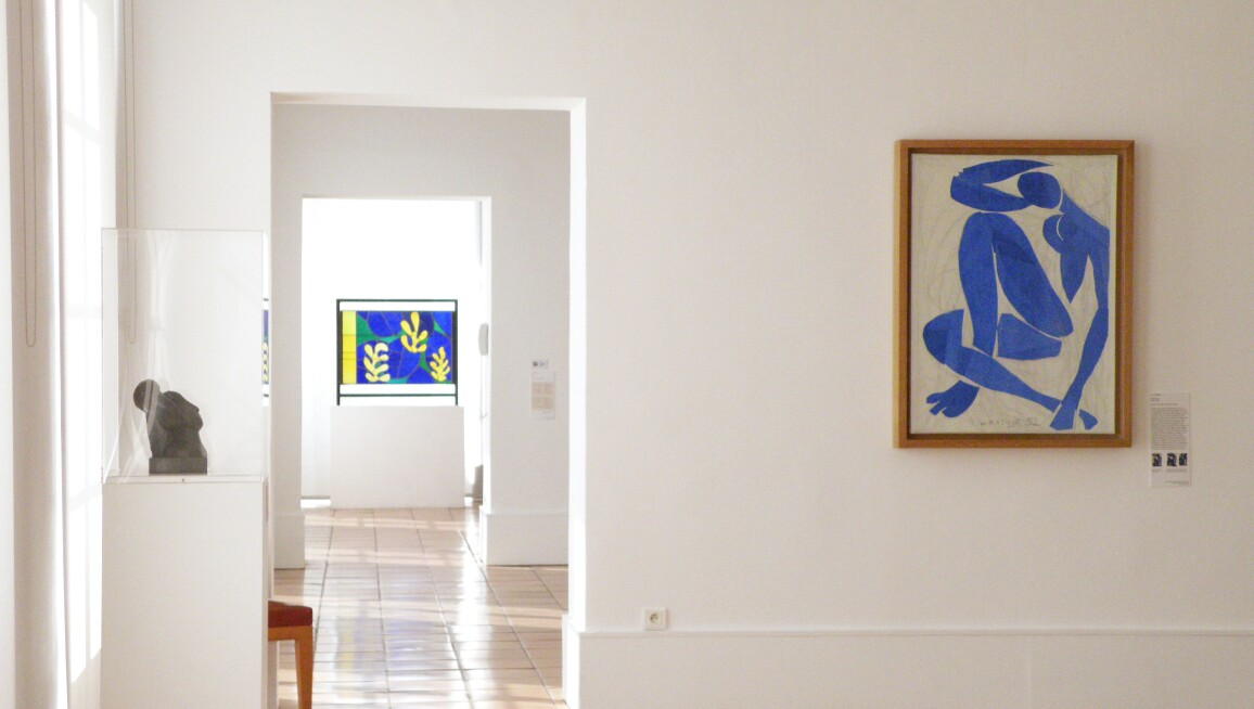 Musée Matisse, Nice, interior