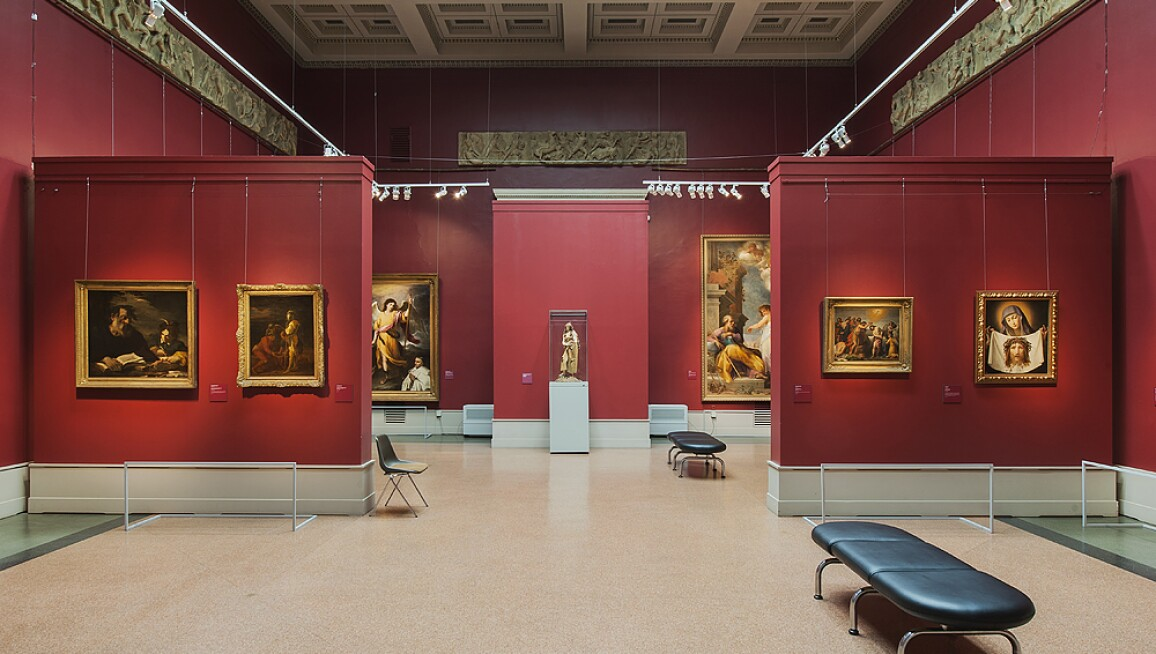 Interior View, The Pushkin State Museum of Fine Arts