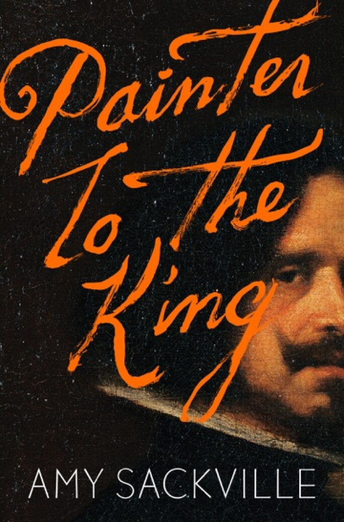 Cover of Amy Sackville's novel Painter to the King