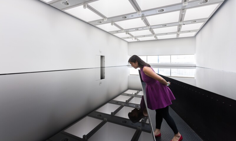 01 Installation view of Richard Wilson_ 20_50, (1987) at Space Shifters,  © copyright the artist, courtesy Hayward Gallery 2018. Photo_ Mark Blower.jpg