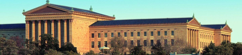 Exterior View, Philadelphia Museum of Art