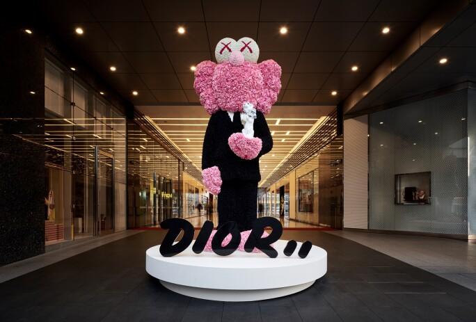 Dior Kaws in taipei.jpg