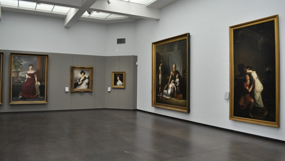 Interior View, Groeningemuseum