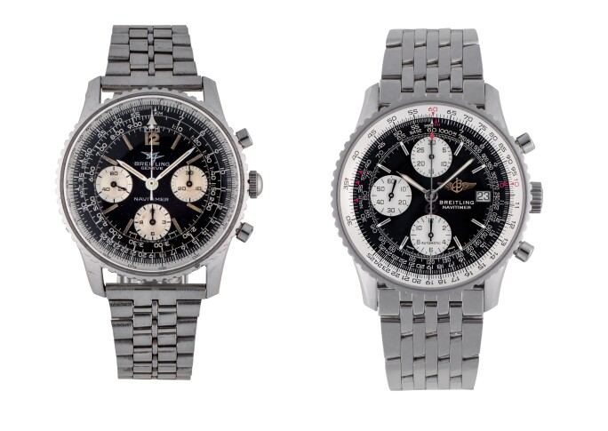 Breitling Navitimer Chronograph Watches, circa 1960 and 2001
