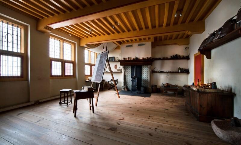 1Museum Het Rembrandthuis, Rembrandts atelier; The Rembrandt House Museum, Rembrandt's studio. Photo credit Kees Hageman.jpg