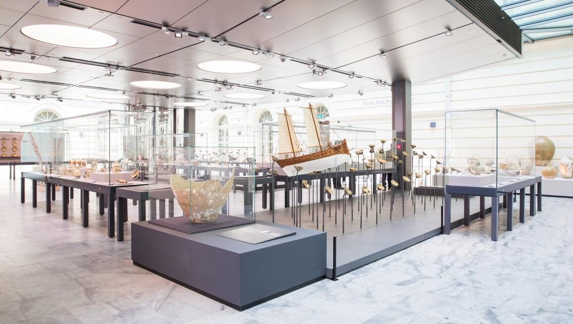 Asian Civilisations Museum, Tang Shipwreck, Khoo Teck Puat Gallery