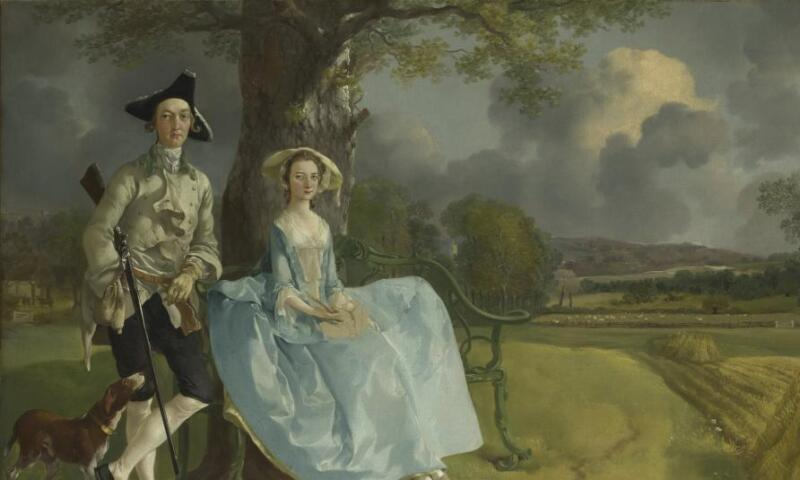Thomas Gainsborough, Mr. and Mrs. Andrews