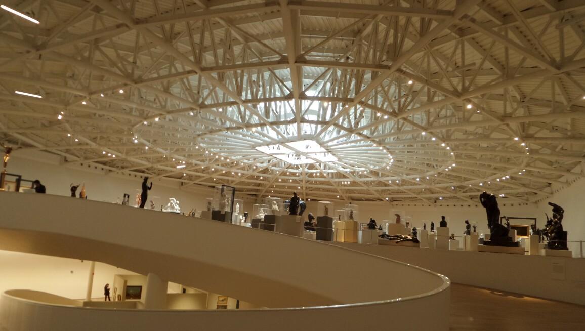 Interior View, Museo Soumaya Plaza Carso