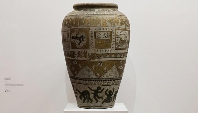 Keith Haring Vase