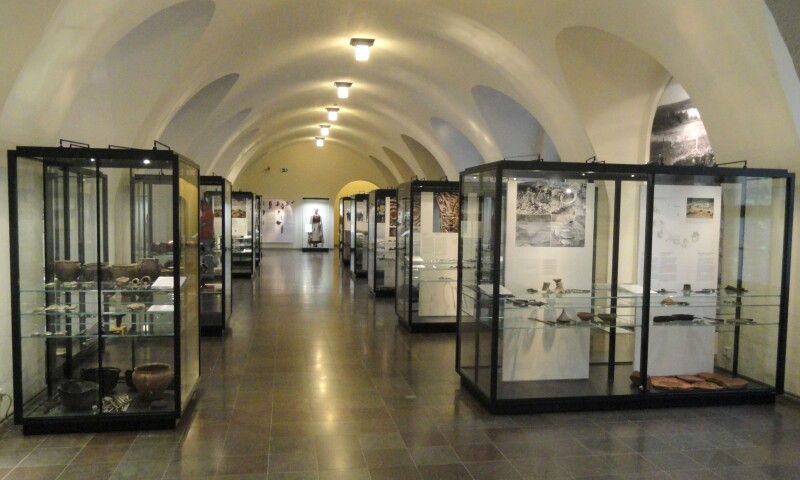 Interior view of the National Museum of Finland