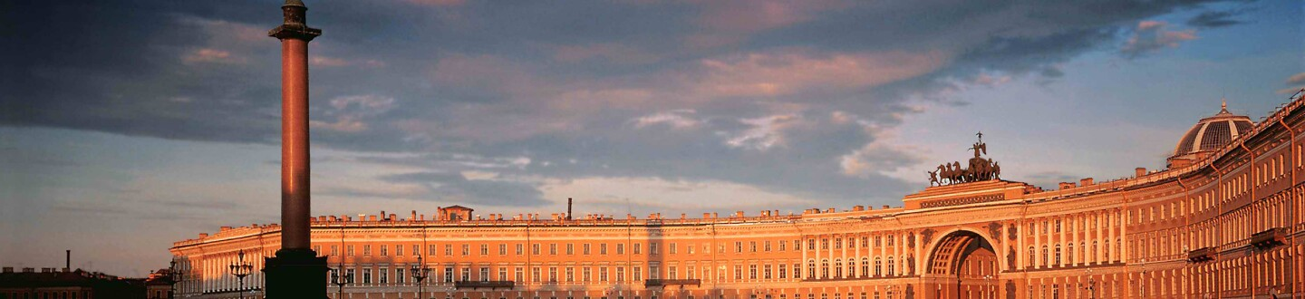 A view of the Dvortsovaya Square and the General Staff Building