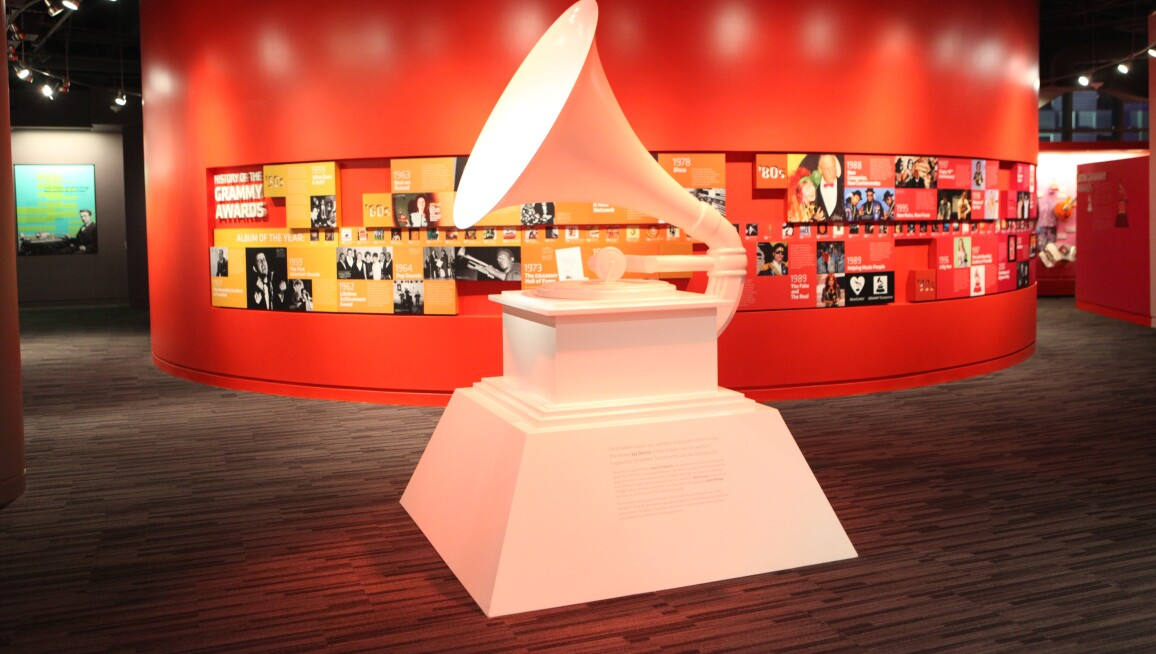 Interior View, GRAMMY Museum