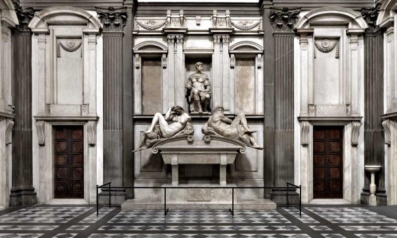 Interior View, Museum of Medici Chapels
