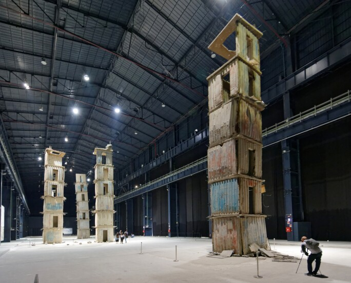 Anselm Kiefer, The Seven Heavenly Palaces
