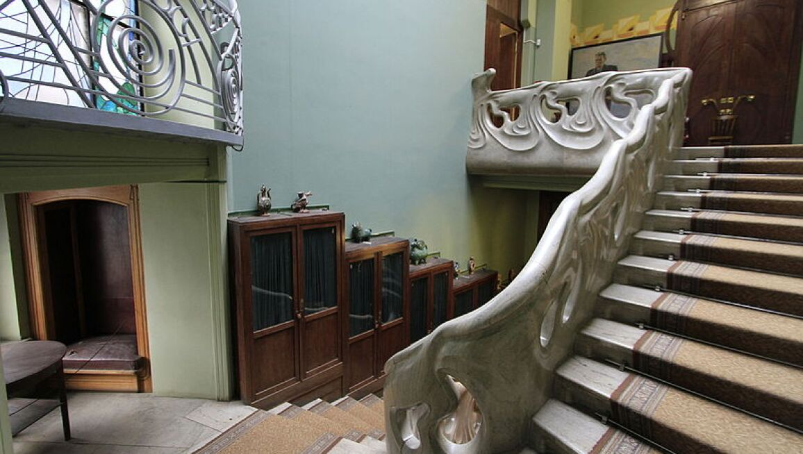 Interior View, Ryabushinsky Mansion
