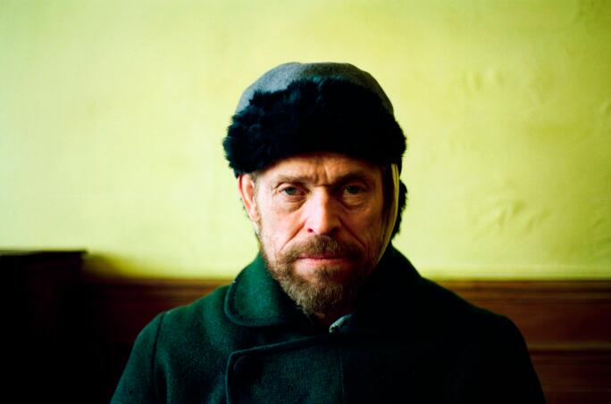 Willem Dafoe as Vincent Van Gogh in At Eternity's Gate