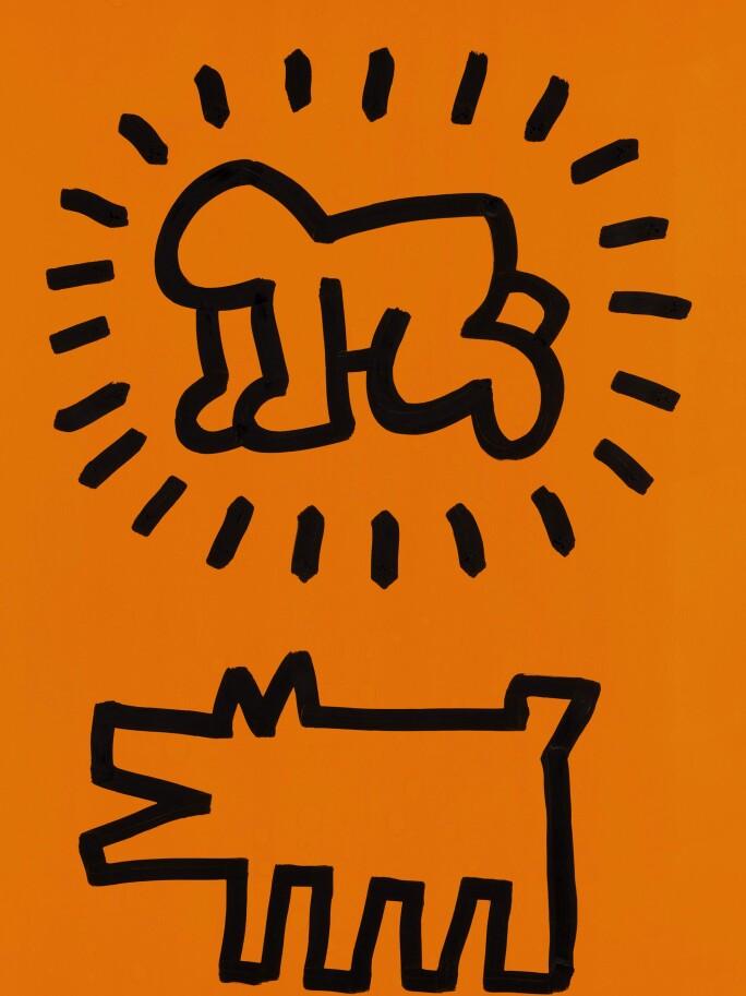 Keith-Haring-Untitled-Radiant-Baby-and-Barking-Dog.jpg