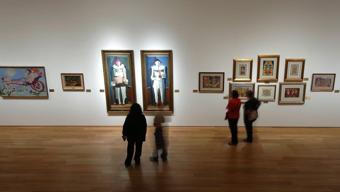 Interior View, Colección de Arte Amalia Lacroze de Fortabat