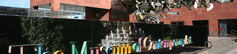 Exterior View, Museum of Contemporary Art, Los Angeles