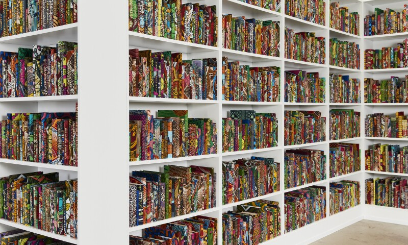 Yinka Shonibare CBE, African Library, 2018-3.jpg