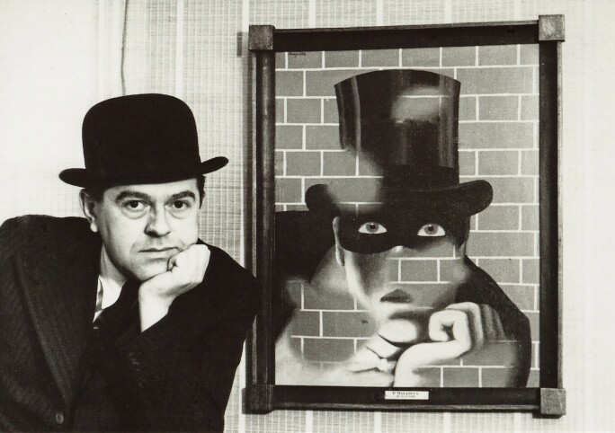 Rene Magritte And Le Barbare 1938