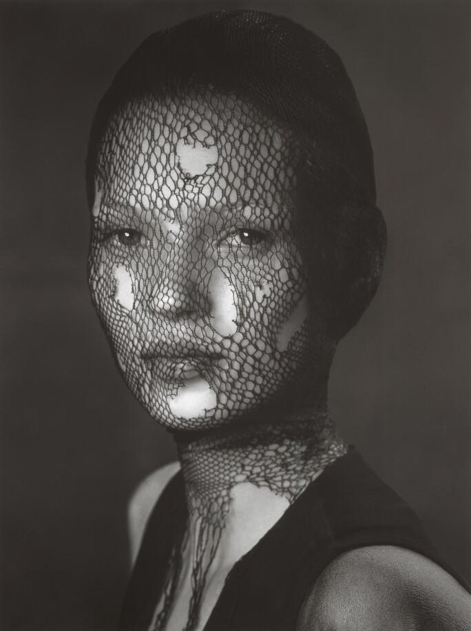 Albert Watson, Kate Moss in Torn Veil, Marrakech, 1993. Estimate: £10,000–15,000.