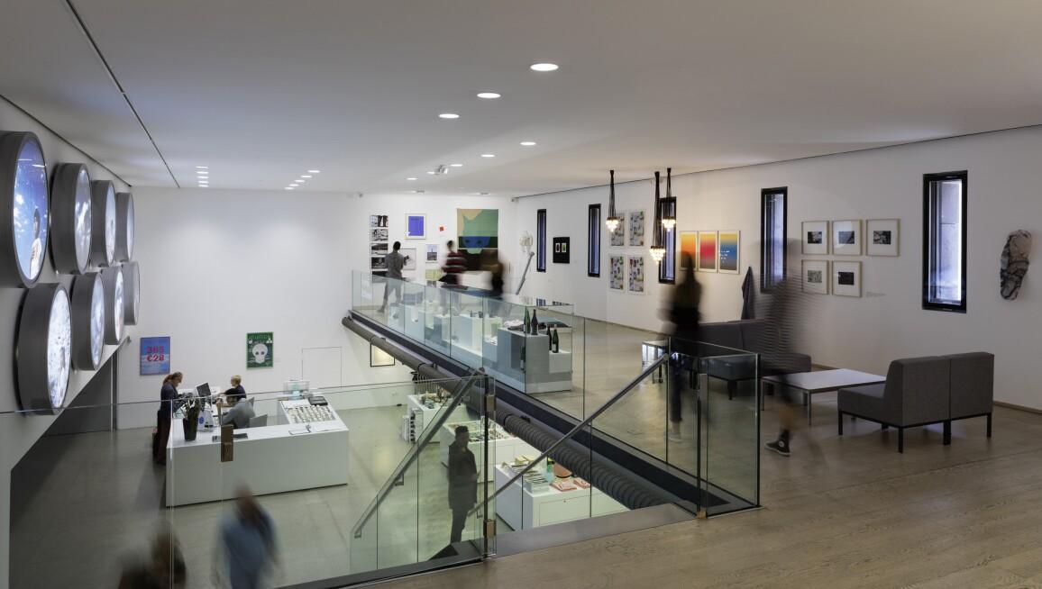 Interior View, Museum Moderner Kunst