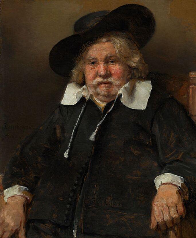 Portrait of an Elderly Man, Rembrandt