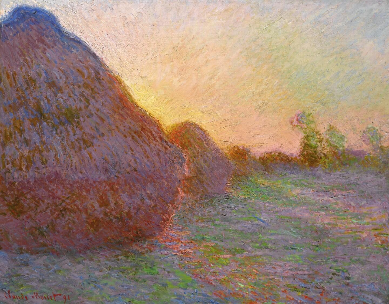 "Monet's ""Meules"""