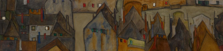 Egon Schiele, Dämmernde Stadt